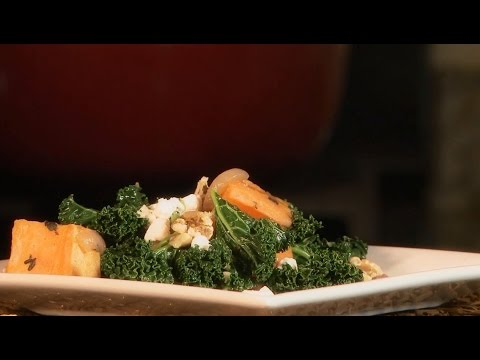 How to Make Roasted Yam and Kale Salad | Kale Recipes | Allrecipes.com