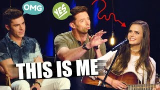 "Singing ""This Is Me"" for Zac Efron, Hugh Jackman & Zendaya (from The Greatest Showman Movie)"