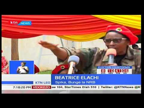 Spika wa bunge la kaunti la Nairobi-Beatrice Elachi aongoza wakina mama kumsuta Raila Odinga
