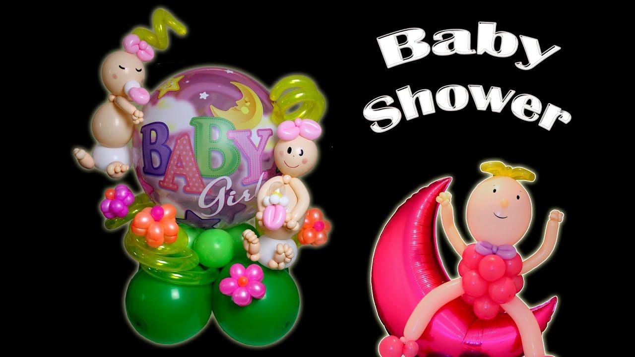 Centro de Mesa para Baby Shower Parte 1