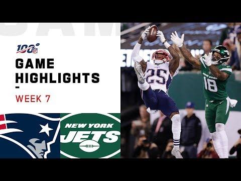 Patriots vs. Jets Week 7 Highlights   NFL 2019