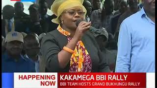 MP Wamuchomba reminds Kakamega residents on her stand on polygamy | KAKAMEGA BBI RALLY