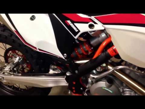 2014 KTM 500 exc Six Days walk around