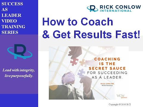 How to Coach Employees and Get Results Fast-Leadership Training ...