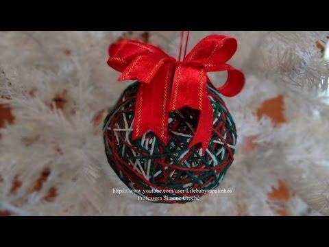 Bola de Natal com Bexiga