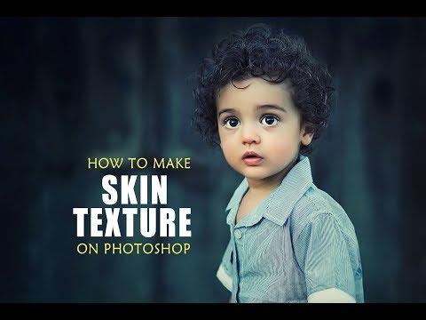 How to Make Realistic Skin texture  in Photoshop | srinu photo editing