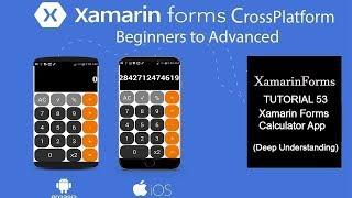 Xamarin Forms Basic Calculator App[Tutorial 53]