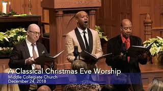 O Holy Night - Christmas Eve Service At Middle Collegiate Church NYC