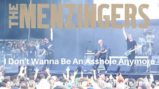 The Menzingers   I Don't Wanna Be An Asshole Anymore LIVE @ Warped Tour 25th Atlantic City NJ 2019