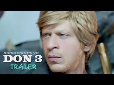DON 3 Trailer 2017. Shahrukh khan's fan made trailer.