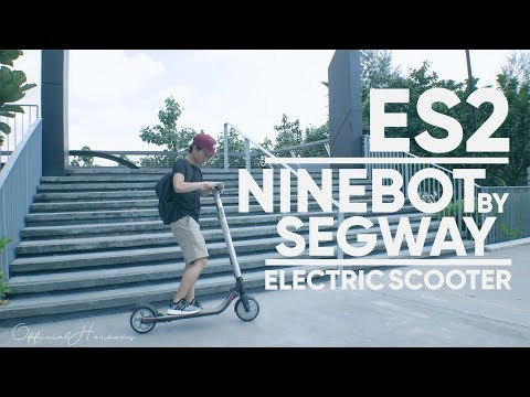 2020 Segway Ninebot KickScooter ES2 in Oakdale, New York - Video 1