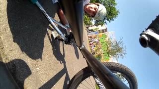 preview picture of video 'BMX - HD Hero 2 - Double -insert Trick here- Schmellwitz Contest 2012'