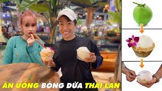 ĂN UỐNG BÓNG DỪA cùng CrisDevilGamer và Mai Quỳnh Anh | Tối nay ăn gì?