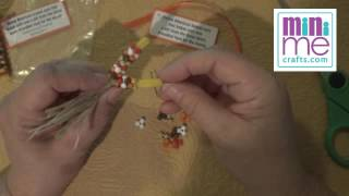 How To Fall Harvest Indian Corn Thanksgiving Girl Scout SWAP Craft Kit DIY Video Tutorial