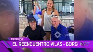 Guillermo Vilas Y Bjorn Borg: Dos Viejos Adversarios Se Reencontraron