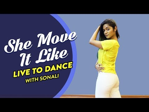 She Move It Like | Badshah | Warina Hussain | Dance Tutorial | LiveToDance with Sonali