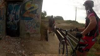 preview picture of video 'GoPro HD Hero2 Ruta MTB - Laguna Campillo (Vaciamadrid)'