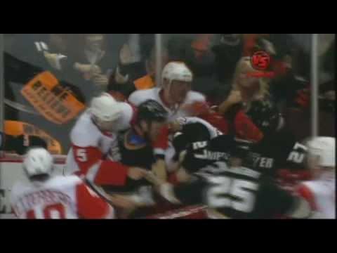 Corey Perry vs. Brian Rafalski