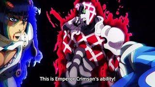 ジョジョ: This is King Crimson's ability! 『HD』