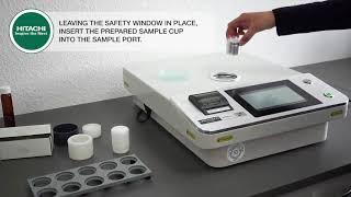 LAB-X 5000 - Πως να Αναλύσετε Δείγμα σε Μορφή Σκόνης ή Υγρή Μορφή