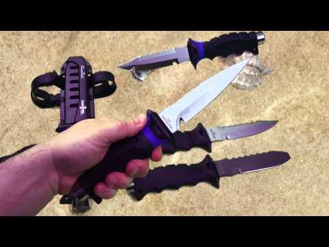 ScubaMax Pro Dive Knife KN-990, KN-991, KN-993, KN-996