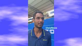 Exclusive interview with Ramkumar Ramanathan at ATP Tennis Tournament in Bangalore.