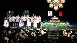 Prayer of St. Francis Philippine Madrigal Singers and Madz et al Choirs