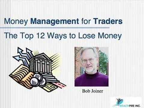 Money Management for Day Traders – live day trading (1/4)