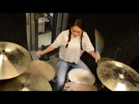 Sister Sparrow & The Dirty Birds : Borderline - drum cover