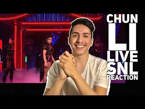 Chun Li- Nicki Minaj LIVE SNL REACTION| E2 Reacts mp3
