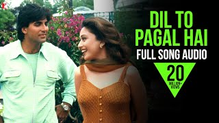Dil To Pagal Hai - Full Song Audio | Lata Mangeshkar | Udit Narayan | Uttam Singh