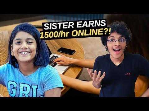 , title : 'How My 12 Year Old Sister Earned 1500/hour Freelancing on fiverr | Rakshabandhan 2020 Special
