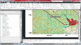 Georreferenciando uma carta topográfica - Curso Básico de AutoCAD Civil 3D - Aula 4.1 - cadguru