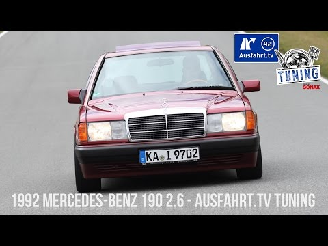1992 Mercedes-Benz 190 2.6 inkl. CarPorn  - Ausfahrt.TV Tuning