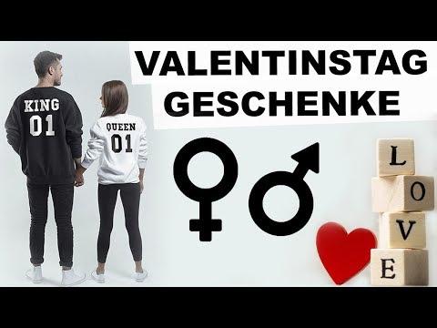 VALENTINSTAG GESCHENKE FÜR MÄNNER & FRAUEN ● Valentinstag Geschenk Freund & Freundin