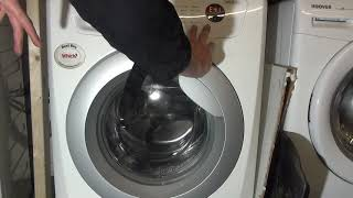 How to enter service cycle on a zanussi lindo 300 Washing machine.