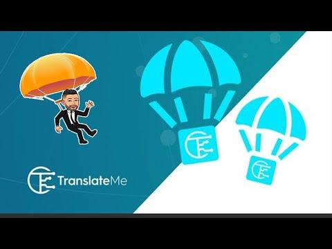 Airdrop BOT TranslateMe Fácil de ~U$12 Dólares . 🚀