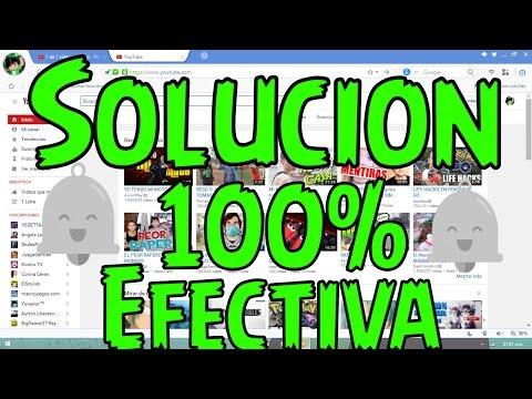 SOLUCION NO APARECE CAMPANITA DE NOTIFICACIONES DE YOUTUBE! (2016)