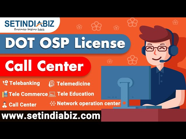 Video On DOT OSP License Registration