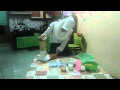 Video cara membuat eskrim buah alpukat