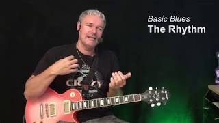 Basic Blues ( complete beginners course ) - Guitar Lesson