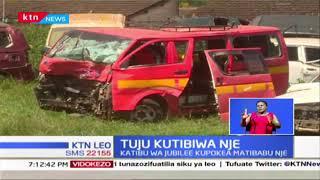 Tuju asafirishwa nje kwa matibabu baada ya kuhusika kwenye ajali wiki jana