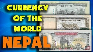 Currency of the world - Nepal. Nepalese rupee. Exchange rates Nepal.Nepalese banknotes and coins