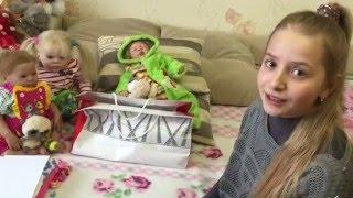 Распаковка новой малышки реборн и шезлонга !!_)))