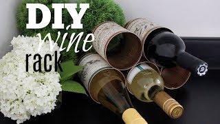 DIY Wine Rack For $0!