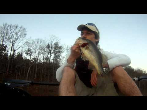 January 24 2012 – Tallapoosa Paddling Company – Pond Fishing