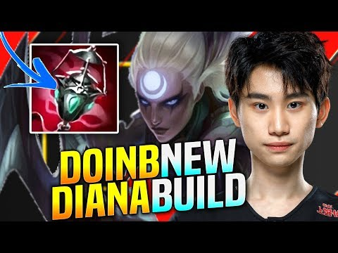 DoinB is a BEAST with NEW DIANA BUILD! - FPX DoinB Plays Diana vs Kled Mid! | KR SoloQ patch 9.24