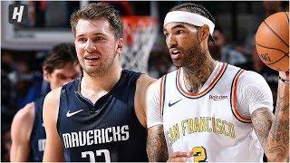 Golden State Warriors vs Dallas Mavericks - Full Game Highlights | November 20, 2019 NBA Season