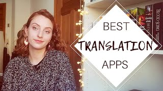 My Favourite Apps and Websites for Translating  | Best Online Translators