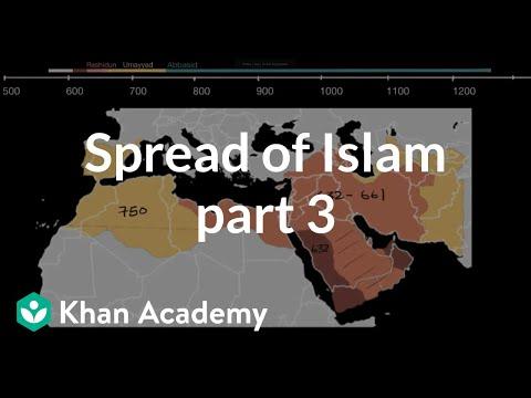 Muslim Map Of America 900.The Spread Of Islam